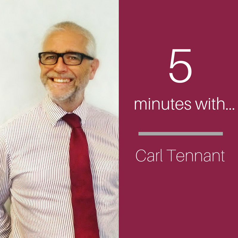 5 Minutes with Carl Tennant