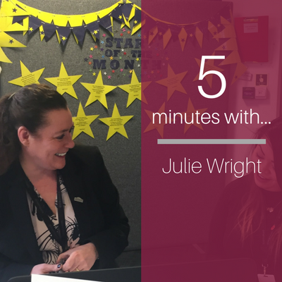 J is for… Julie Wright!