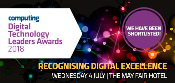 D is for… Detail being shortlisted for the Digital Technology Leaders Award!
