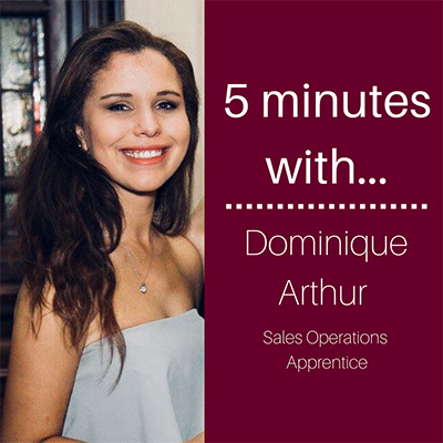 5 minutes with… Dominique Arthur