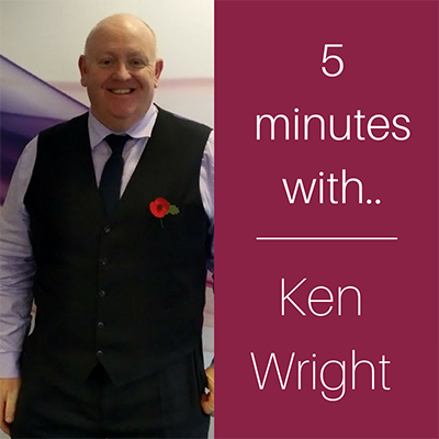 5 minutes with… Ken Wright