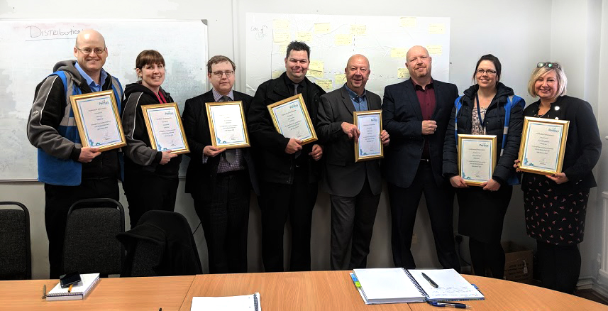 Dimensions celebrates first green belt graduates of Six Sigma training programme!