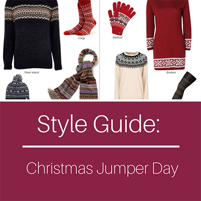 Style Guide - Christmas Jumper Day