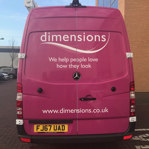 A New Service Vehicle Marks a New Era for Dimensions!