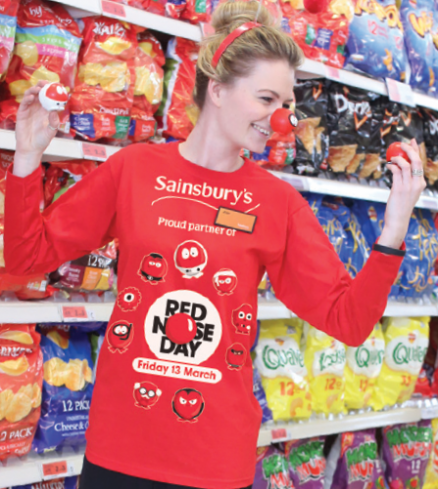 Charity in-store colleague t-shirts are a big success