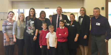 Dimensions Supports Local Greggs' Breakfast Club