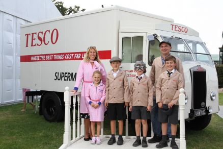 Dimensions and Tesco take a trip down memory lane at Goodwood Revival festival