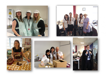 Record breaking fundraising day for Dimensions' Purchasing team!