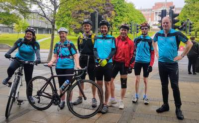 Dimensions and Rowland Hill Fund deliver charity bike ride!