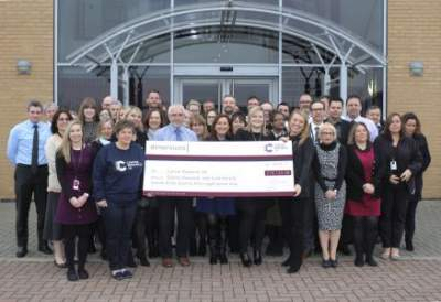 Dimensions Donates £37,000 to Charity